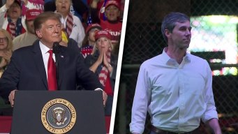 In El Paso, Trump and O'Rourke Go Head-to-Head Over Wall