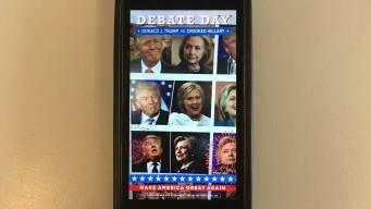 Debate-Day Trump Snapchat Filter Takes Swipe at Clinton