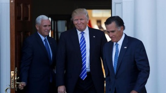 Trump Summons Romney for 2nd Look as Staffers Squabble