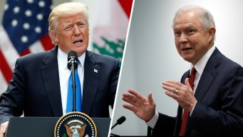 Trump Cranks Up Heat on Sessions, Says 'Time Will Tell' Fate