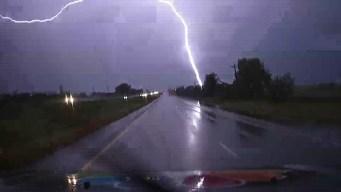 Storms Bring Heavy Rain, Lightning to North Texas
