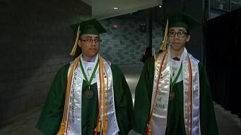 Twins Graduate as High School Valedictorian, Salutatorian