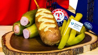 Globe Life Park Adds Second Dilly Dog Stand