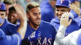 Briceno's Walk-Off HR Sends Angels Past Rangers 5-4 in 11