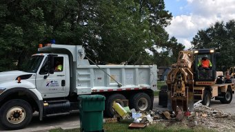 186 Football Fields Worth of Debris Collected From Harvey