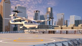 Concepts Revealed for Dallas Uber 'Skyports'