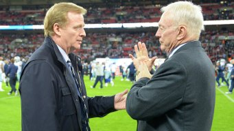 Jerry Jones Says Objection to Goodell Deal Not About Elliott Ban