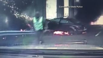 Burning Car Rescue On Video