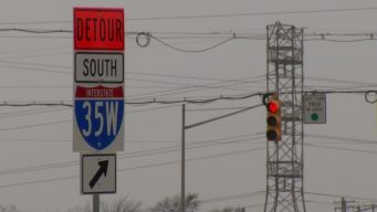 Drivers Warned to Slow Down Along I-35W Corridor Project