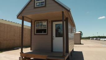 Students Build a Tiny House