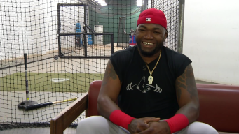 Ortiz Plays in Arlington for the Final Time