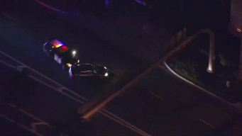 Police Chase Ends with Pit Maneuver
