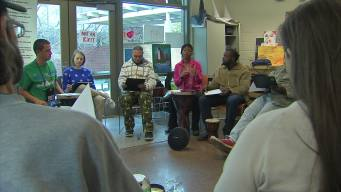 Homeless Adults Use Music Therapy