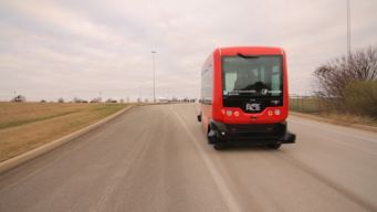 Driverless Shuttle Being Tested in Arlington Thursday