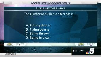 Weather Quiz: Number-One Killer in a Tornado