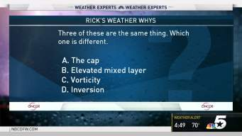 Weather Quiz: Which Is Not Like the Others?