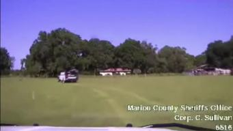 Man Leads Police on Chase Through Cow Pastures