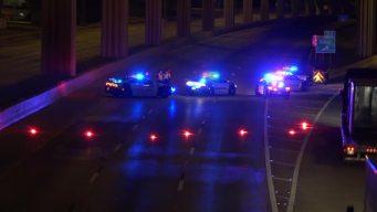 Fatal Crash Involving 18-Wheeler Closes US 75 in Dallas