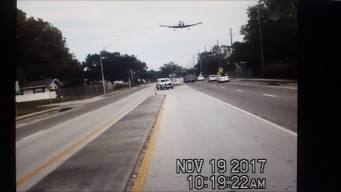 Cameras Show Plane Crash Land on Street