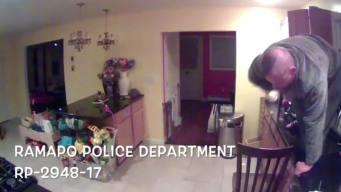 Burglar Breaks Into Home, Gets Stuck