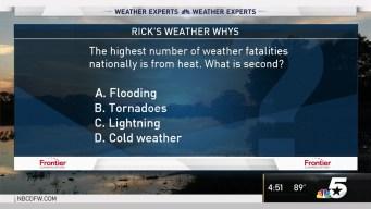 Weather Quiz: Weather Fatalities