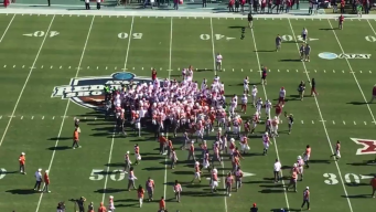 Texas, OU Players Flagged After Pre-Game Tensions Spike