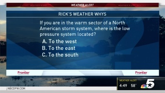Weather Quiz: Low Pressure System in Warm Sector of  a North American Storm System