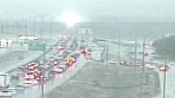 TxDOT Camera Shows Transformer Blow During Thursday Storms