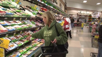 Shoppers Find Higher Prices for Groceries