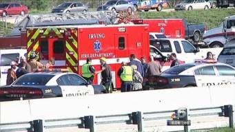 Drivers Stop to Help Injured Bus Crash Passenger