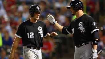 White Sox End Losing Streak With Win in Texas