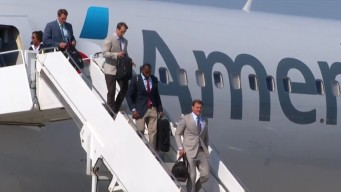Dallas Cowboys Arrive in Oxnard for Training Camp