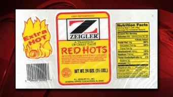 Zeigler Red Hots Recalled, May Contain Metal