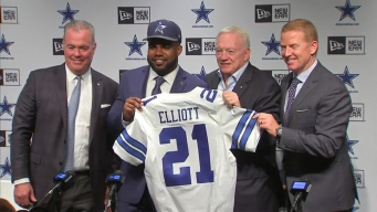 Cowboys Introduce First Round Pick Elliott