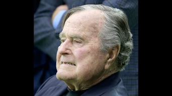 President George H.W. Bush Released From Hospital
