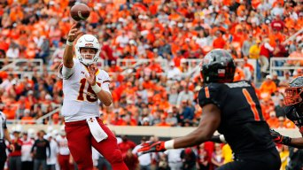 Purdy Leads Iowa State Over No. 25 Oklahoma State
