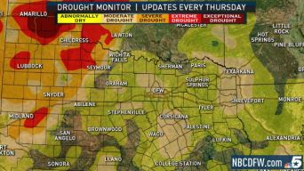 North Texas Remains in Moderate Drought Despite Storms