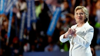 Clinton Accepting Democratic Nomination is Big for Women