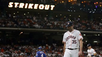 Verlander Wins 19th as Astros Beat Rangers
