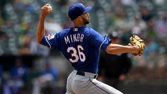 Rangers Go Deep Twice to Back Minor in Win Over A's