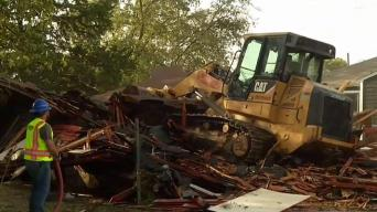 City of Dallas Demolishes House Where Teens Were Killed
