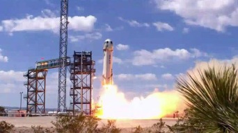 Blue Origin Launches Spacecraft Higher Than Ever From Texas
