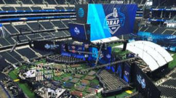 NBC 5 Brings The Latest From the NFL Draft in Arlington