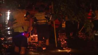 Heavy Rain, Flooding Forces 35 Rescues in Everman