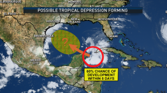 Texas Getting Ready for Tropical Disturbance Nearing Gulf