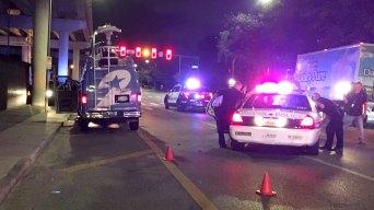 Man Arrested in Houston News Van Attack, Stolen Police Car