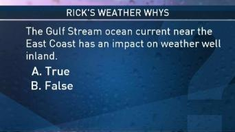 Weather Quiz: Can the Gulf Stream Current Impact Weather Inland?