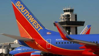 Aircraft Mechanics Holding Picket Against Southwest Airlines