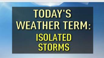 What We Mean When We Say to Expect 'Isolated Storms'