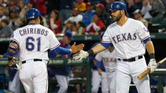 Chirinos' 5 RBIs Lead Rangers Over Angels 8-2